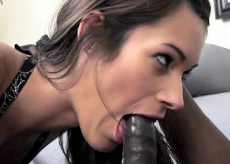 Tall brunette Tyler cheats on her hubby